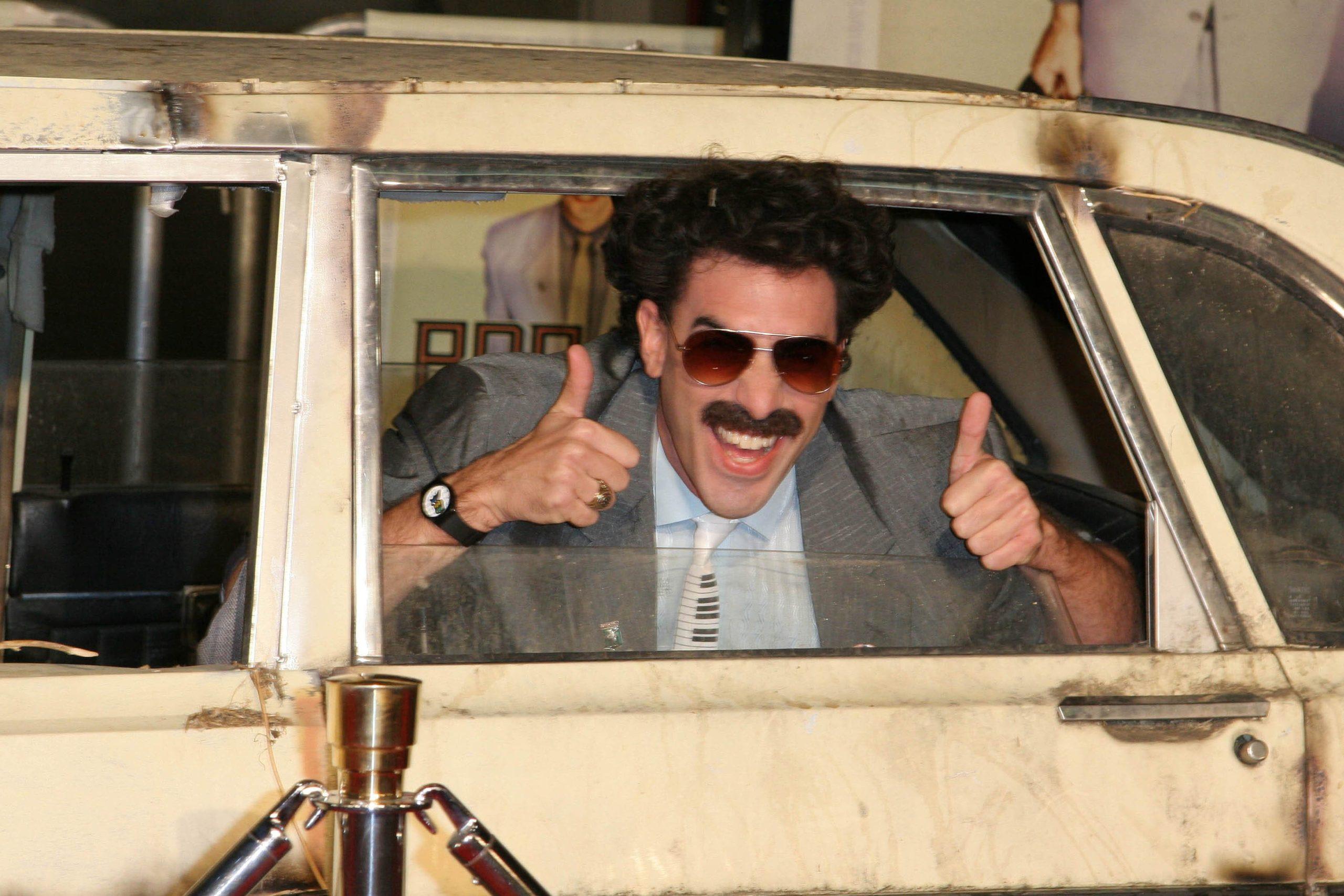 Новый фильм Саши Барона Коэна «Борат. Большой успех» может стать скандальнее первой части