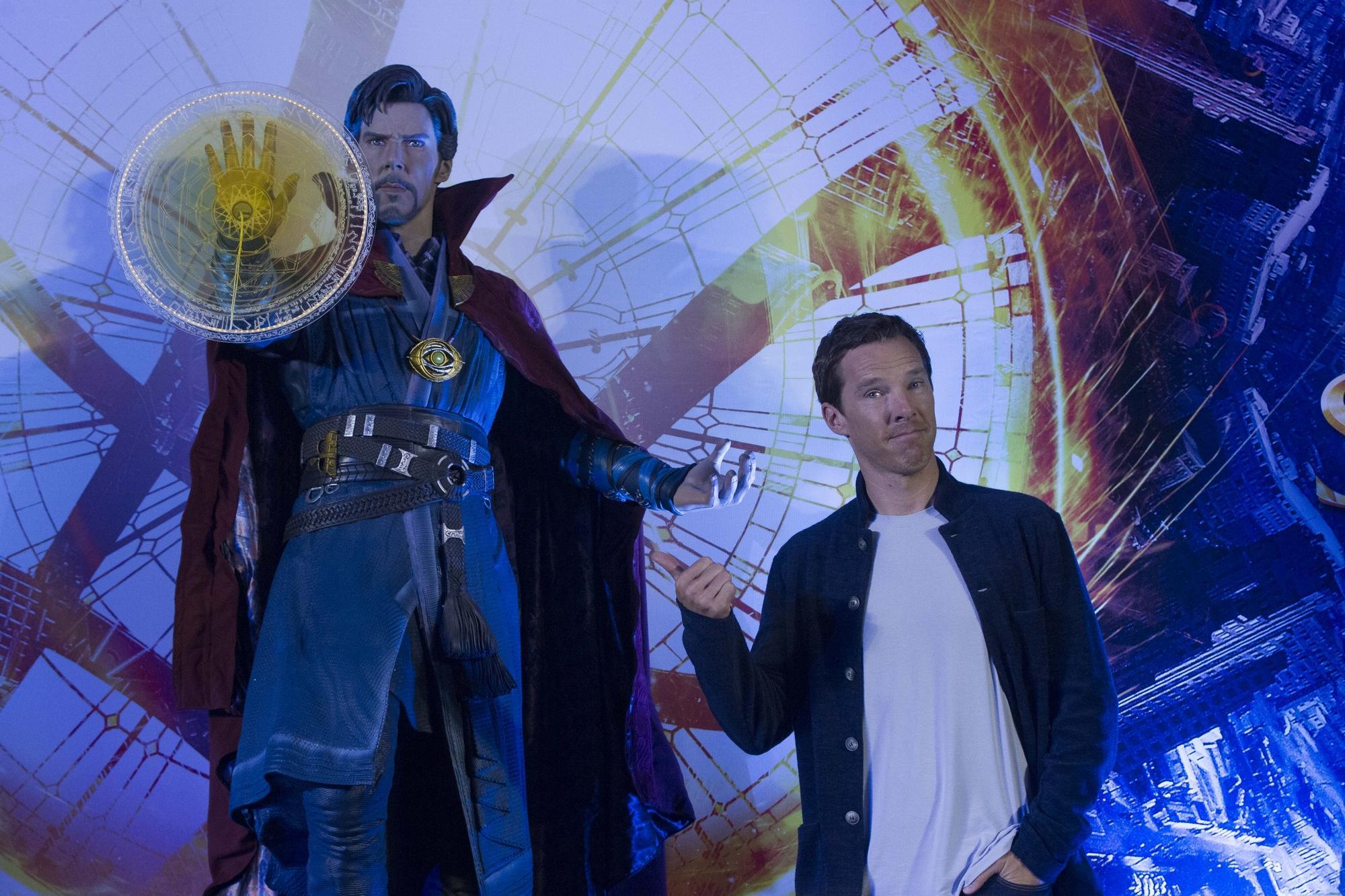 Бенедикт Камбербэтч приступает к съемкам во второй части «Доктора Стрэнджа»