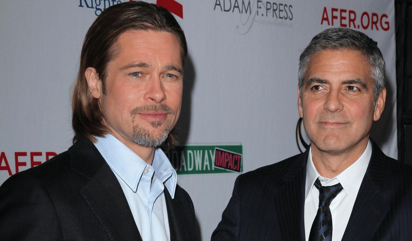 Джордж Клуни рассказал о том, как над ним пошутил Брэд Питт