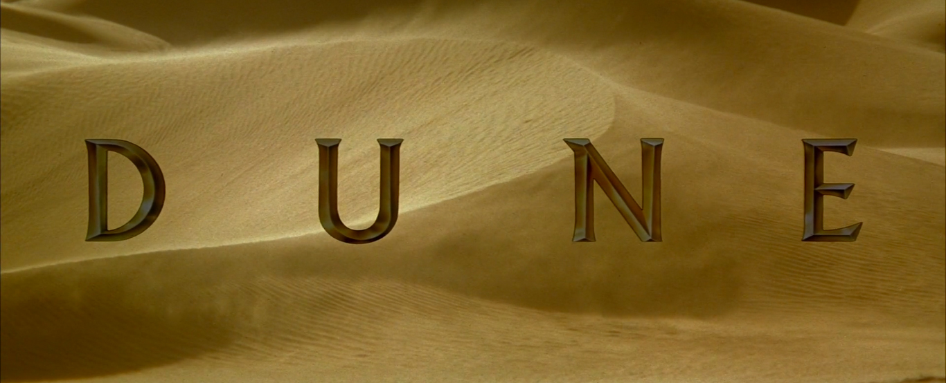 Вступительные титры из «Дюны» 1984 года