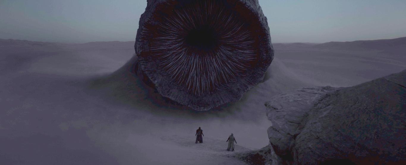 Песчаный червь Шай-Хулуд в «Дюне» Вильнёва