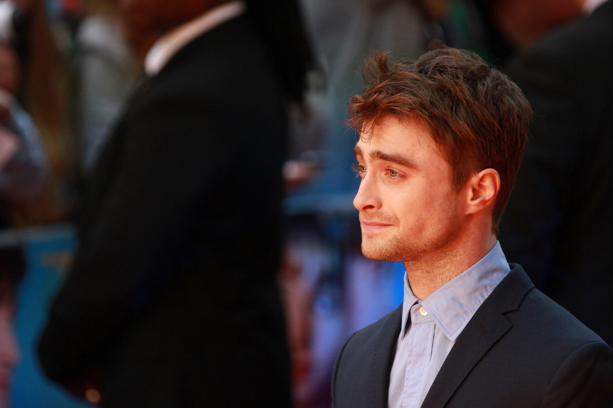 Дэниэл Рэдклифф из «Гарри Поттера» вспомнил забавный случай со съемок