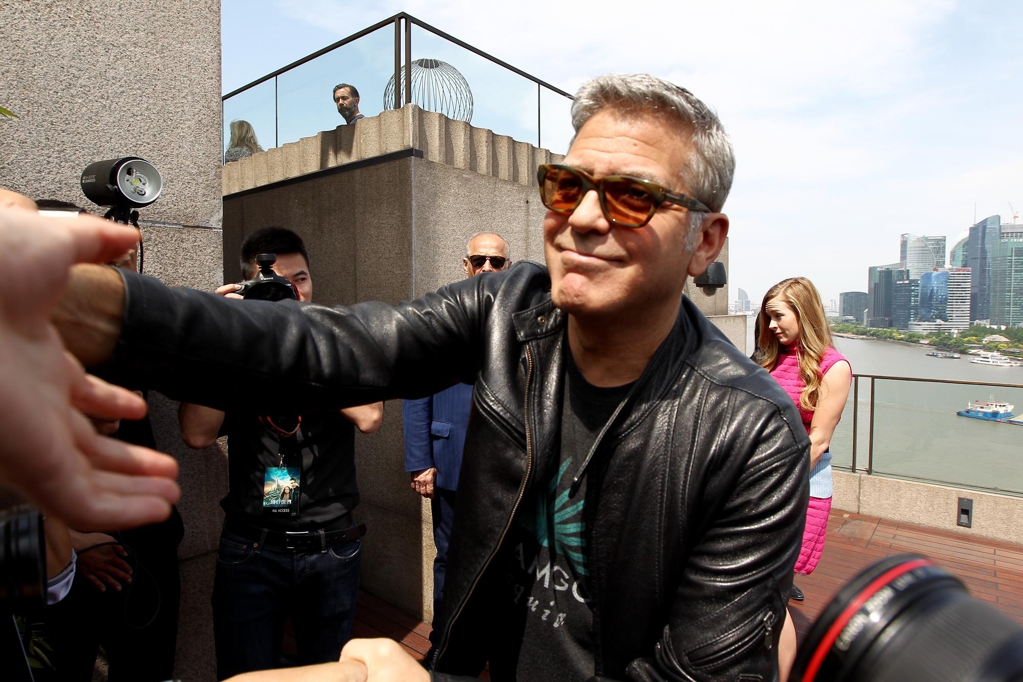 Джордж Клуни рассказал о сильной потере веса для фильма «Полночное небо»