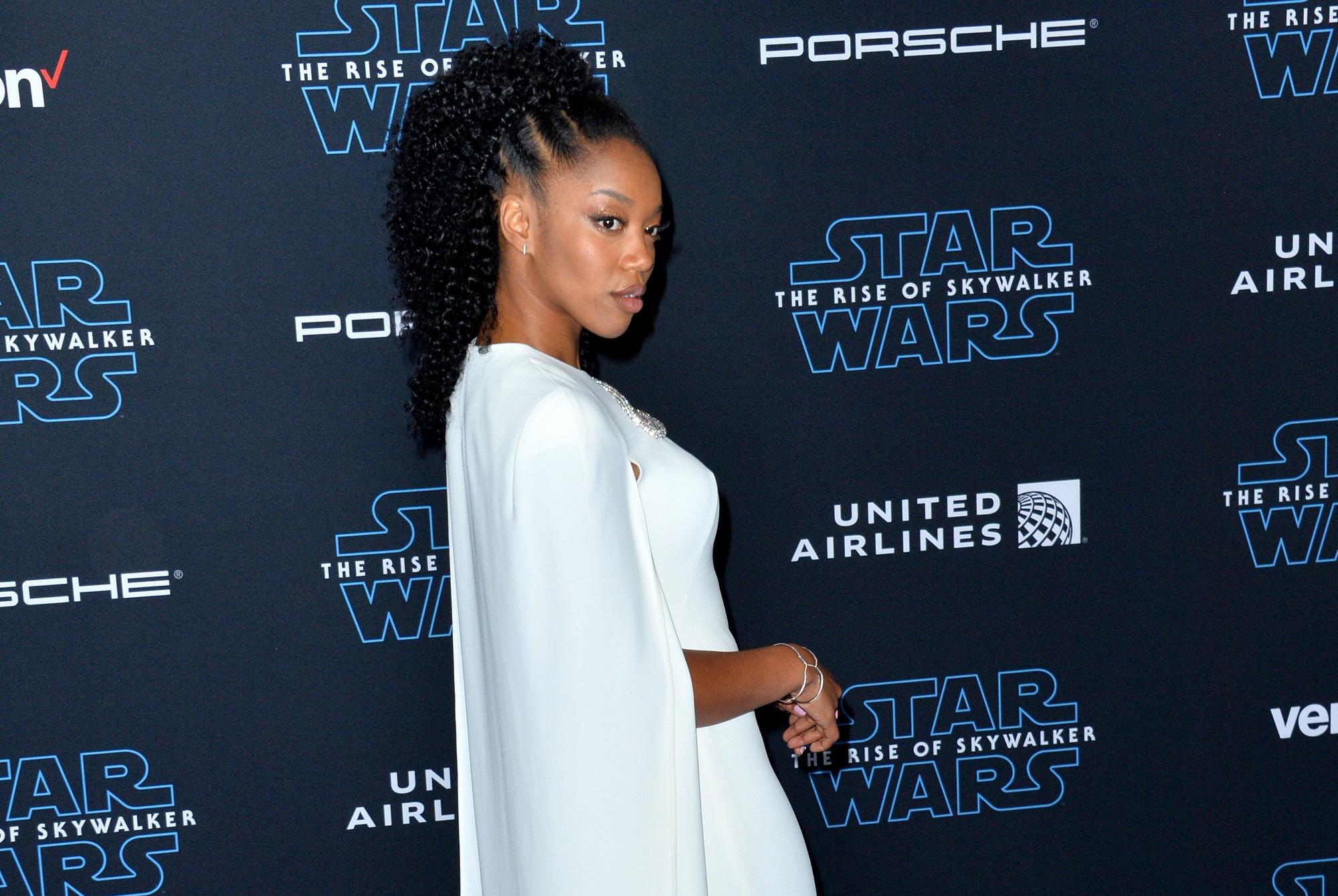Актриса из «Звездных войн» Наоми Экки сыграет Уитни Хьюстон