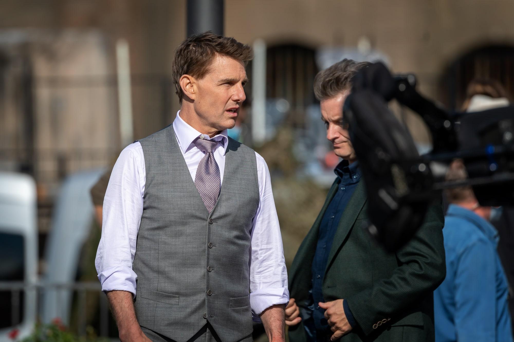 «Если снова это сделаете, вы уволены!»: Том Круз вышел из себя на съемках фильма «Миссия невыполнима 7»