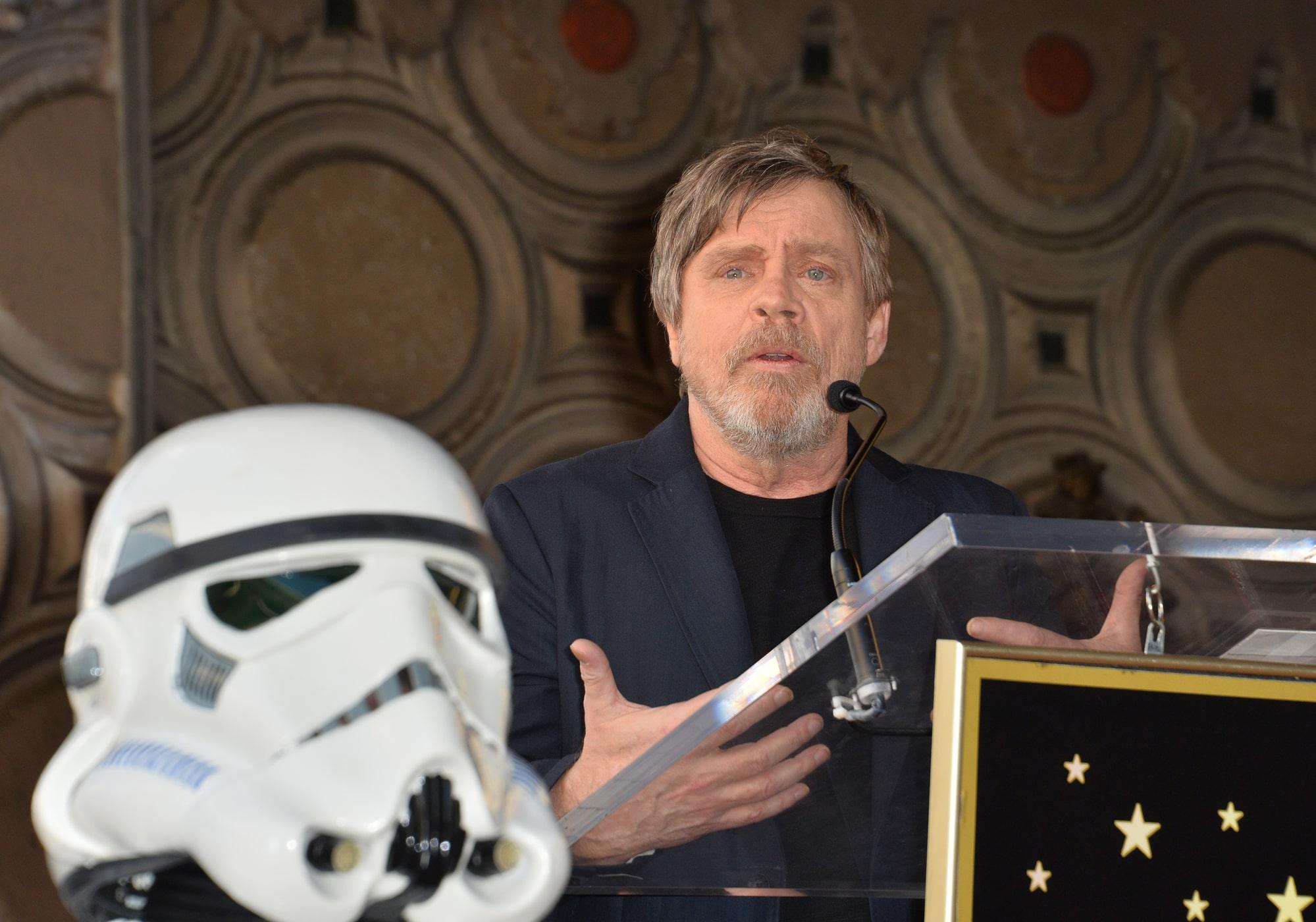 Марк Хэмилл вспомнил забавный случай со съемок «Звездных войн» с Кэрри Фишер