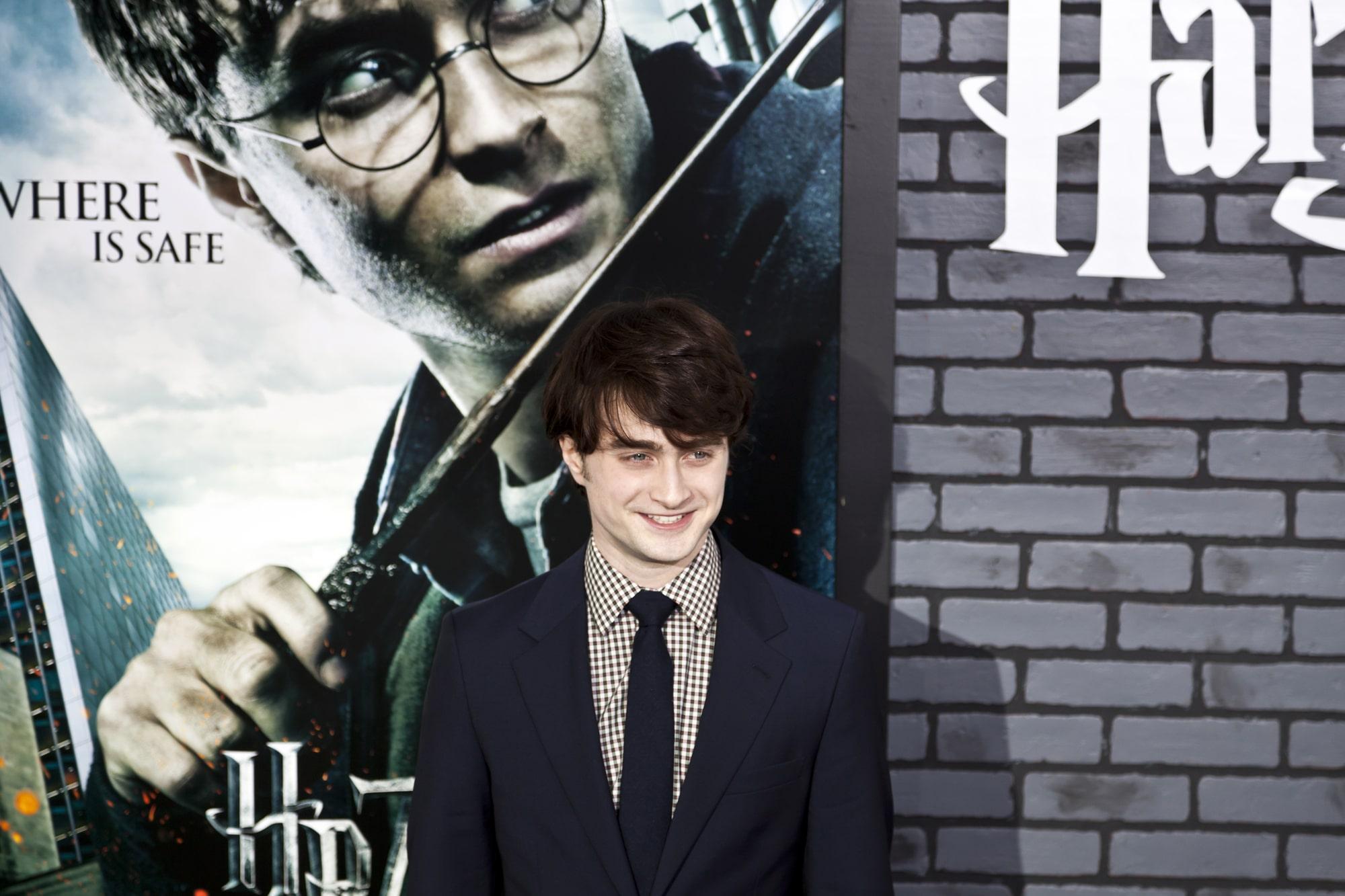 Дэниел Рэдклифф стесняется своих ранних ролей в «Гарри Поттере»