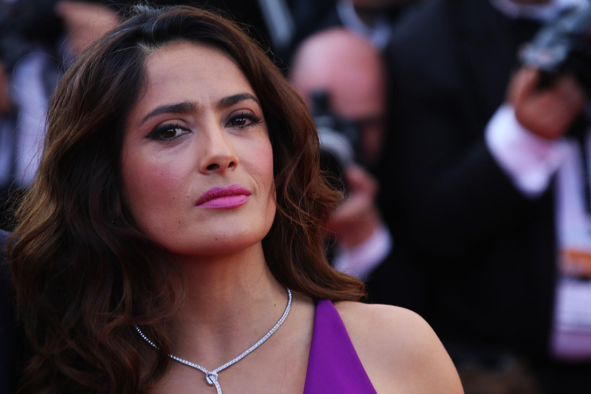 Сальма Хайек плакала во время съемок любовной сцены в фильме «Отчаянный»