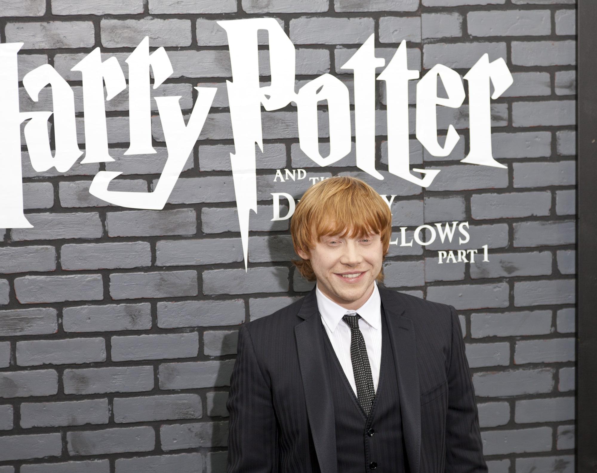Руперт Гринт рассказал о неловких моментах во время съемок «Гарри Поттера»