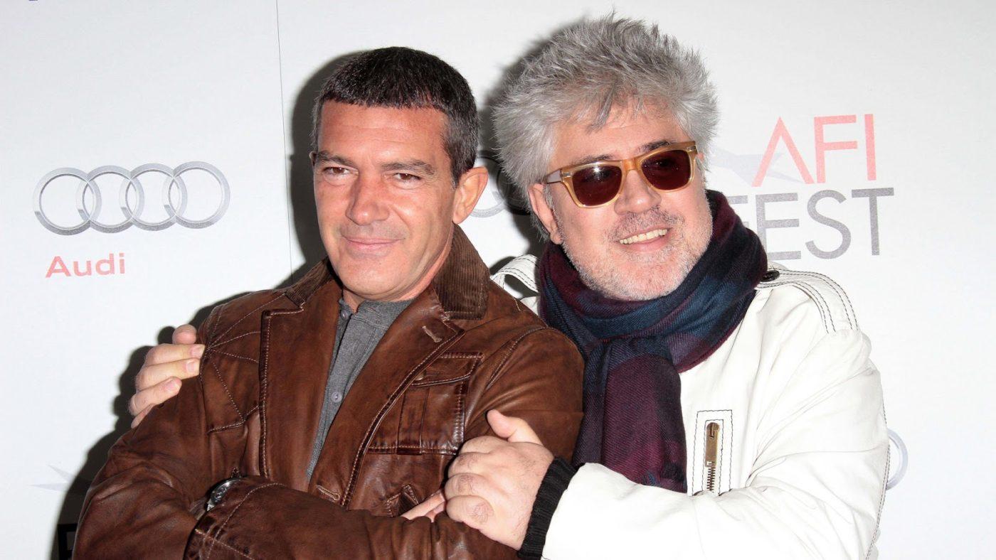 Antonio Banderas and Pedro Almodovarat