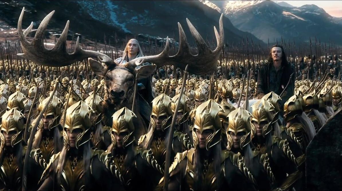 Кадр из фильма «Хоббит: Битва пяти воинств»