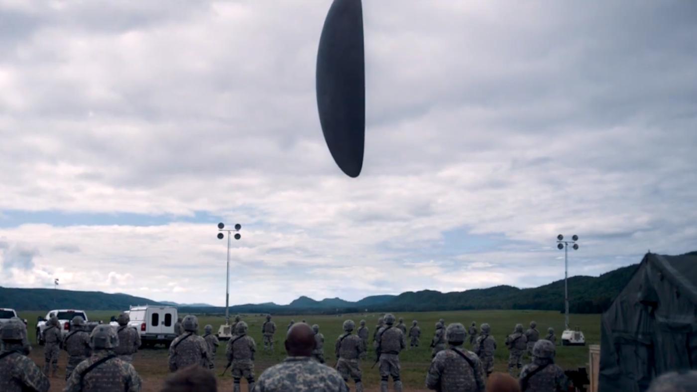 Кадр из фильма «Прибытие»