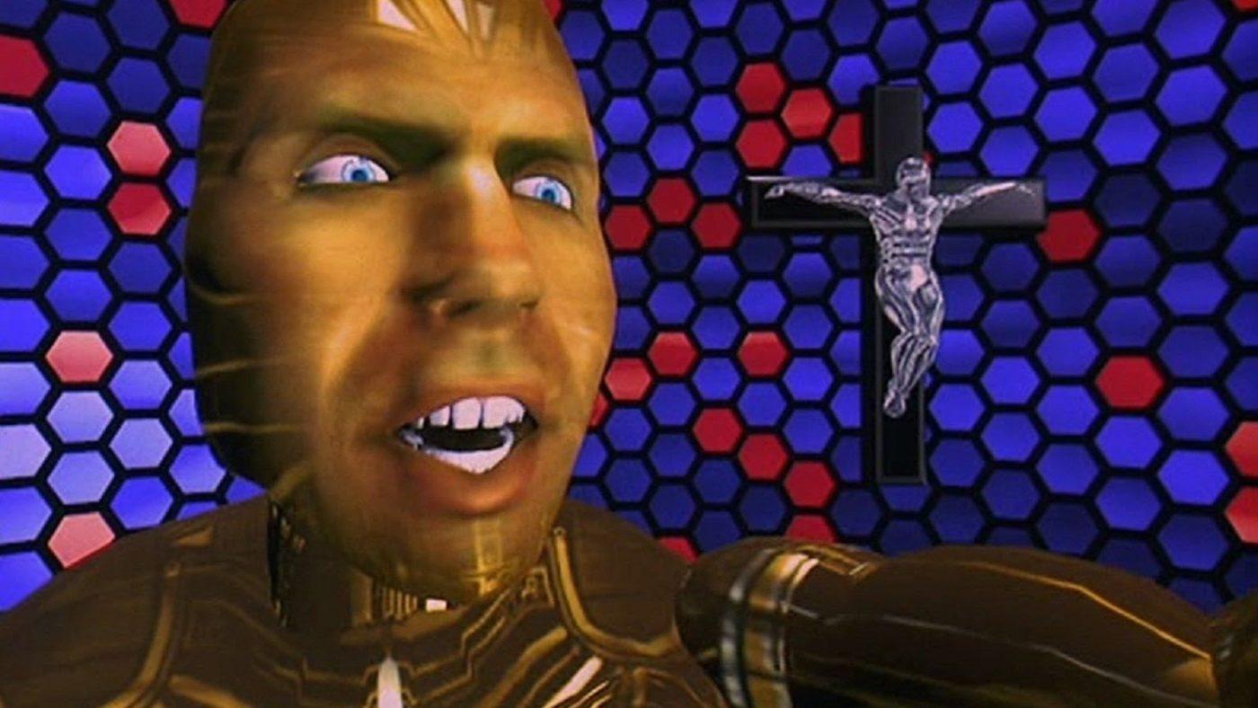 Кадр из фильма «Газонокосильщик»