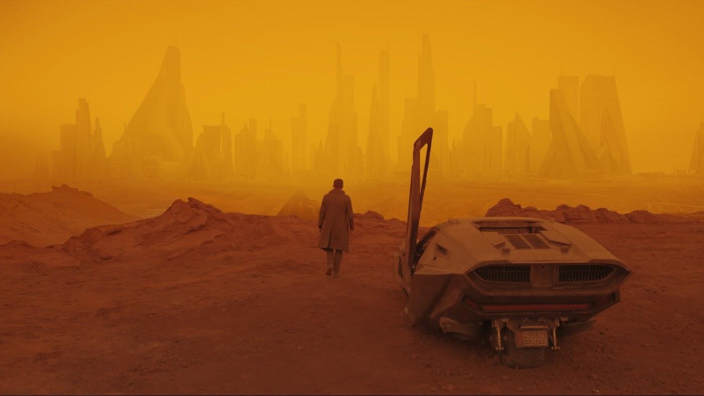 Оранжевые руины Лас-Вегаса в «Бегущем по лезвию 2049»